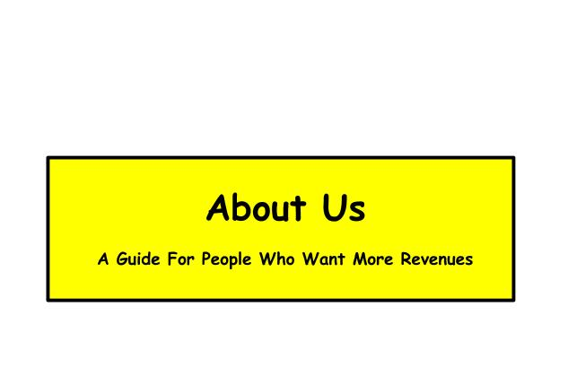 Graphic about the About Us website page